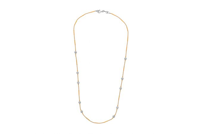 Elite Rose Gold Bead Link Gold Chain