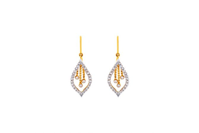 Fancy Marqiuse Dangler Diamond Earrings