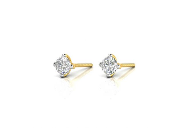 Sparkling Daily Wear Design Stud Earrings