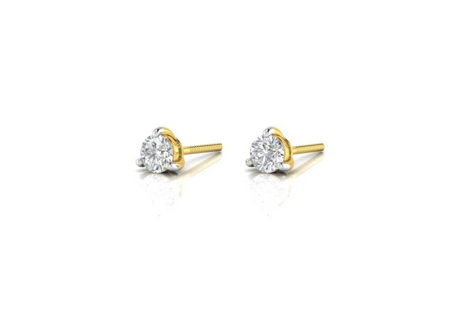 Elegant  Prong Stud Daily Wear Earrings