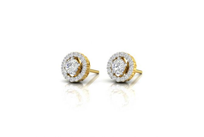 Gilitering Convertible Diamond Earrings