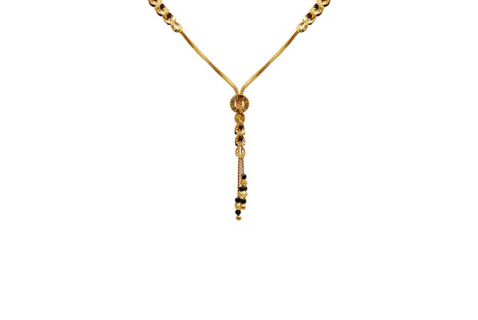 Delicate Knot Gold Mangalsutra