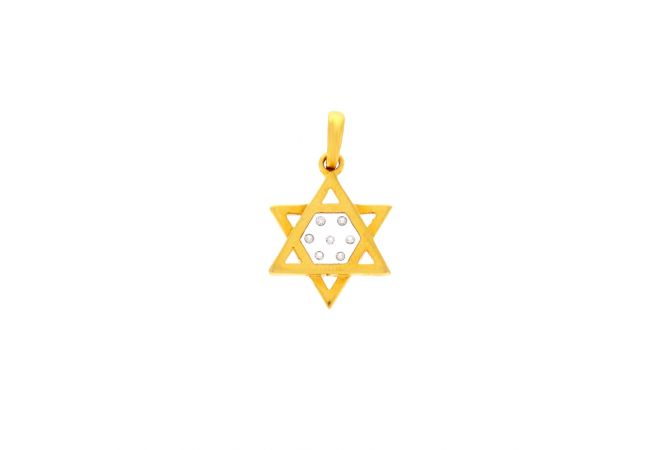Twinkling Star Diamond Pendant