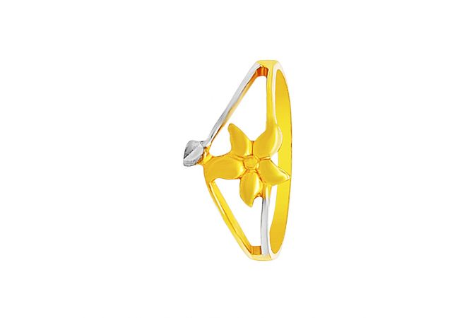 Blossom Floral Gold Ring