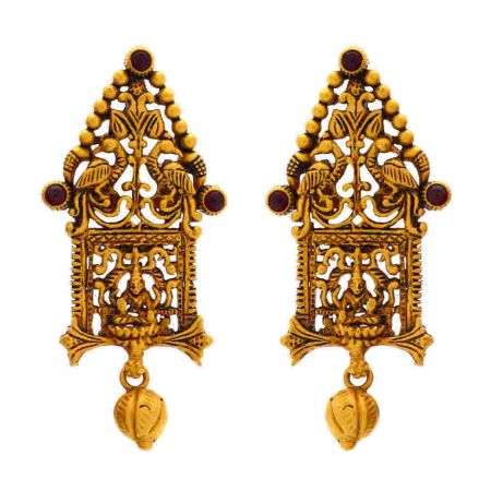 Ceremonial Peocock Earring