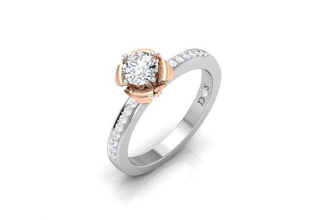 Floret Women's Diamond Ring
