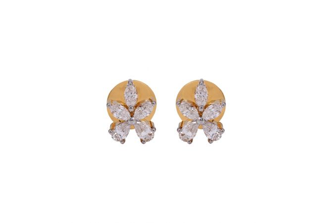 Glint Fancy Diamond Earrings