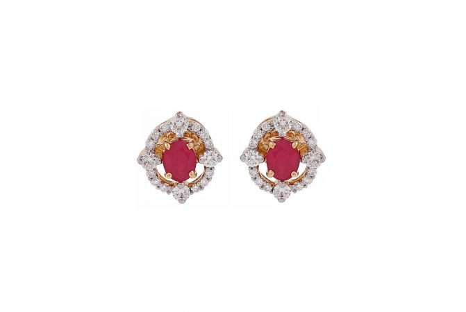 Magnificent Framing Diamond Earrings