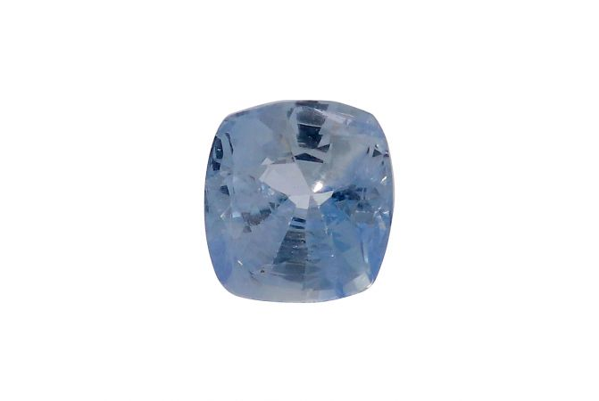 Natural 3.8 Cts Cushion Faceted Sapphire Gemstone