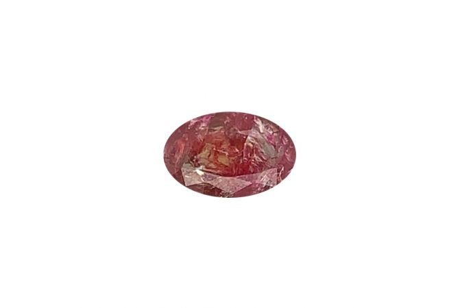 Oval Mix Cut Red Natural Ruby
