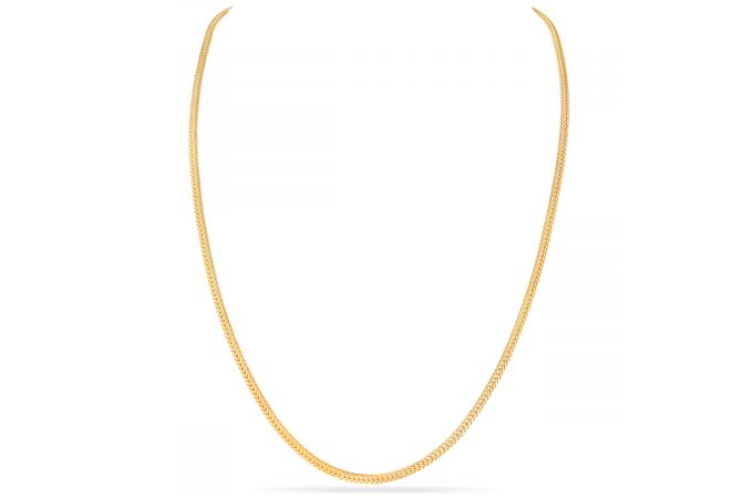 Fancy  Cut Chain With Hallmark  - SVTM-105-0057