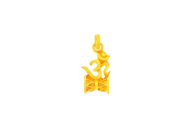 Damroo With OM Gold Pendant