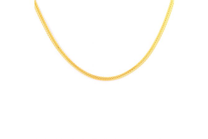22kt Gold Links Chain - CH-189