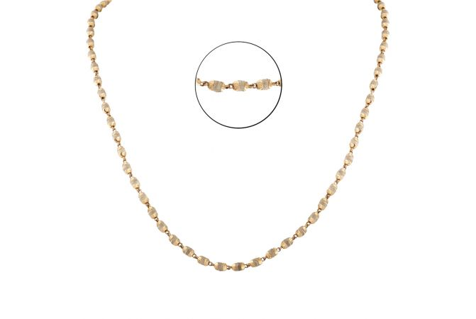 Bead Ball 22KT Yellow Gold Necklace - CH97
