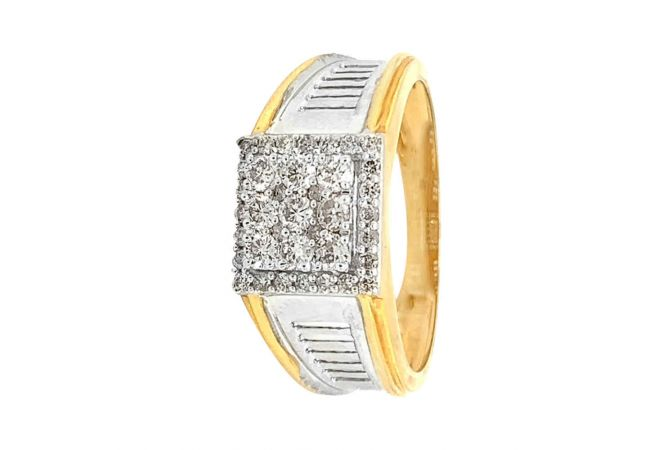 Dazzling Cutout Design Prong Set Diamond Ring