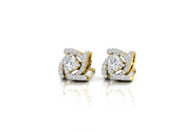 Elegant Design Convertible Diamond Earrings