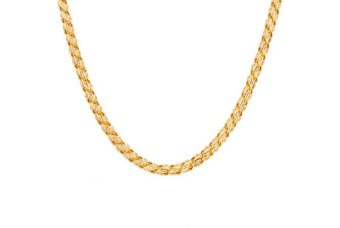 S cut Chain With Hallmark  - SVTM-105-0107