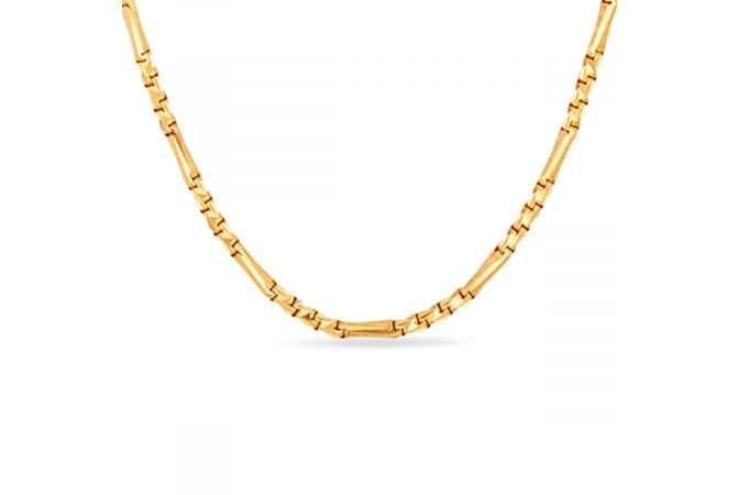 The Grain Cut Chain With Hallmark - SVTM-105-0152